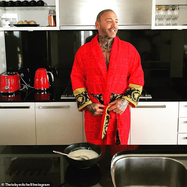 Bikie strongman Toby Mitchell (pictured) is the new boss of the Mongols Outlaw Motorcycle Gang