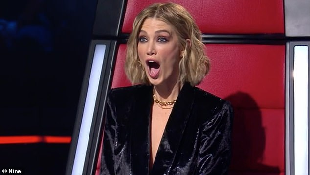 Is this it for Team Delta? Delta Goodrem (pictured) is unlikely to return as a coach on The Voice Australia over 'salary conflict' with Channel Seven