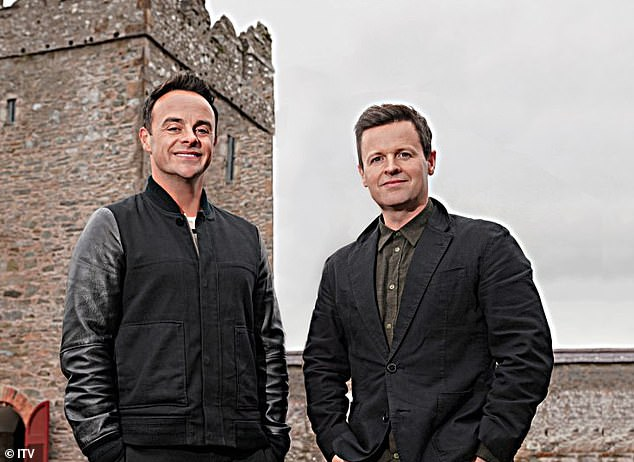 Heartbreak: Declan Donnelly's (right) American cousins have expressed 'heartbreak', as he suggested they 'wanted nothing to do with [him]'. Pictured with co-host Ant McPartlin