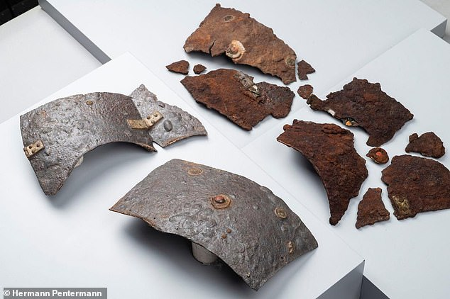 Full set: The complete Roman cuirass discovered in Germany by archaeologists