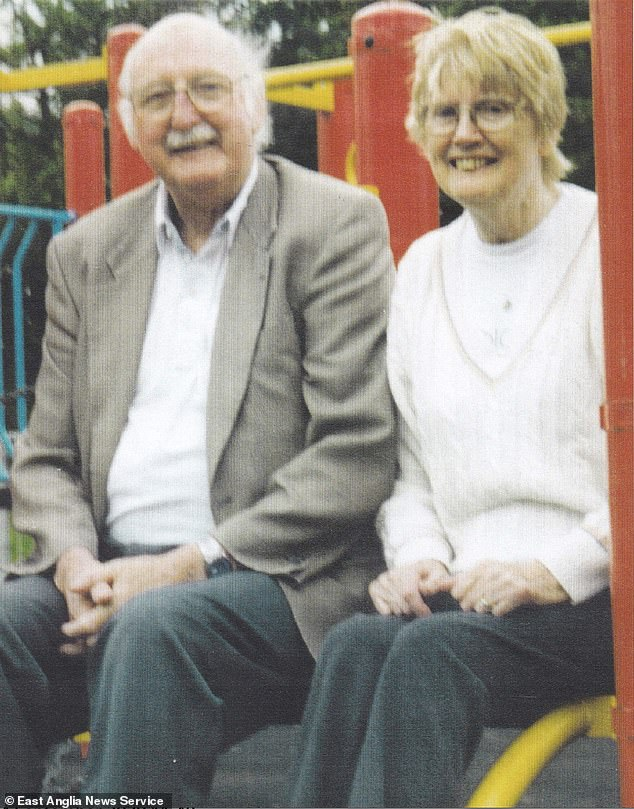 Tom and his brothers said in a statement that their parents - Paddy and Rita (pictured) - and sister Jennifer have all since died without knowing what had happened to Mr Dundon