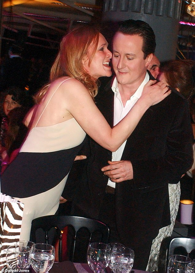 As these exclusive pictures show, Sasha Swire wasn't exactly demure in her own interactions with the former Prime Minister