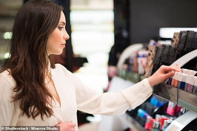 If you've opened your lipstick, mascara or foundation, you can't return it in Australia or exchange it either (stock image)