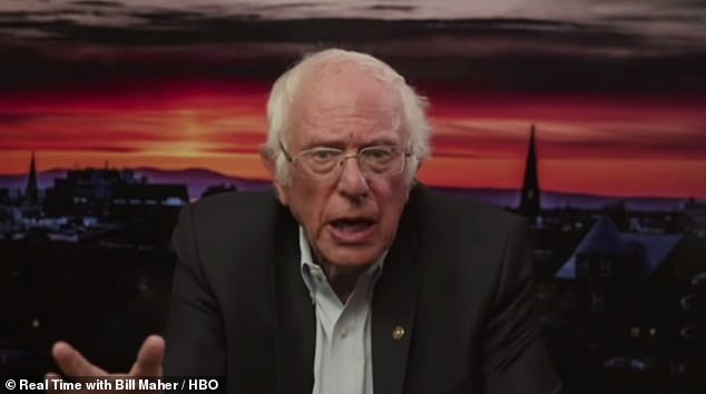 Bernie Sanders appeared on Bill Maher's show on Friday night and said there were 'plans'