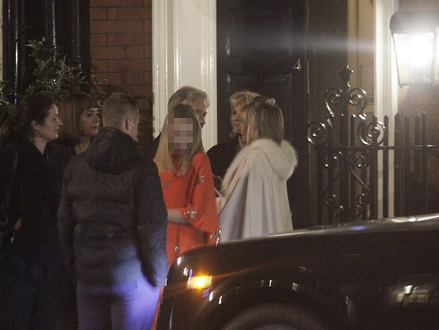 High-rolling revellers piled out of exclusive private members' venue Mark's Club after 10pm last night - despite Boris Johnson's strict curfew