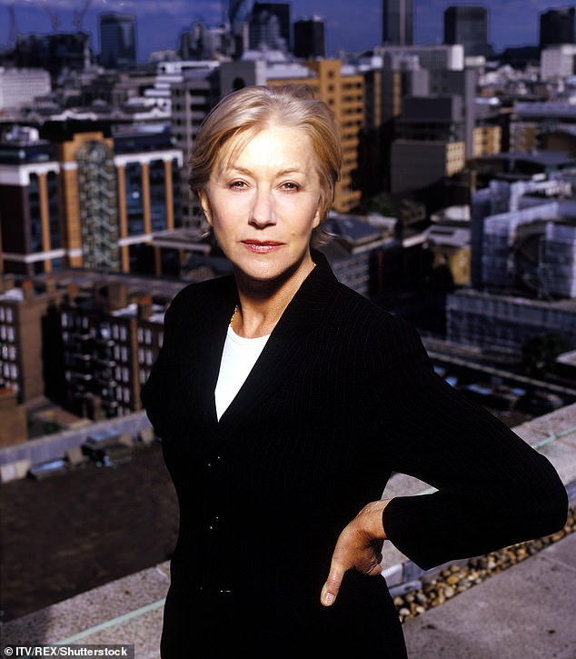 Ian Stephen helped Helen Mirren (pictured) deliver a convincing portrayal in the gripping 1990s television drama Prime Suspect