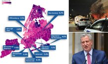 Nine neighborhoods in Brooklyn and Queens face new lockdowns as the city sees more than 1,000 positive tests in 24 hours for the first time since June