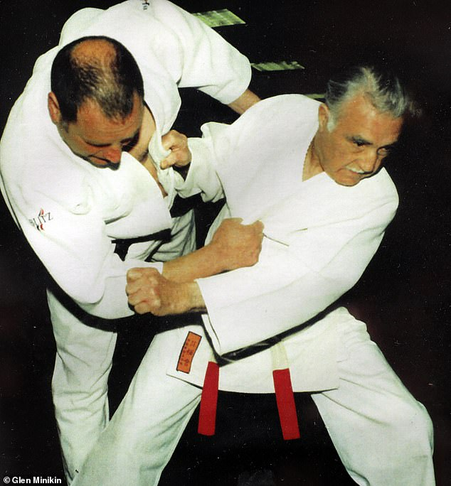 For nearly 70 years and still counting, the main force in his life has been judo — practising, teaching and advising judokas all over the world. He is pictured right in the 1990s