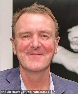 Phil Tufnell is pictured above