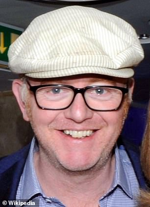 Ms Ball's pay-rise came after she took over the BBC Radio Two Breakfast Show from Chris Evans (pictured)