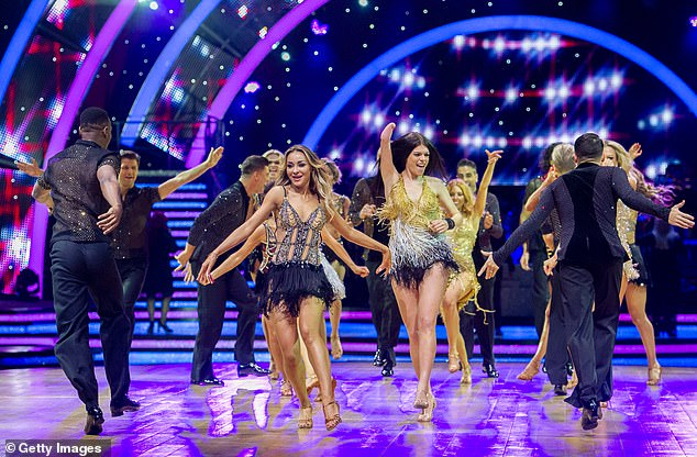 Bring on the dazzle: Despite the news rules and no trip to Blackpool, Strictly will be returning to screens in October
