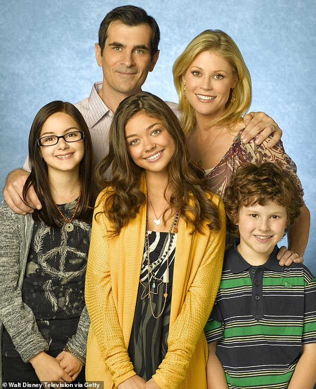 Bittersweet farewell: She bid farewell to Modern Family back in February, starring as the brainy Alex Dunphy in the ABC sitcom since it premiered in 2009, before coming to an end with its 11th season