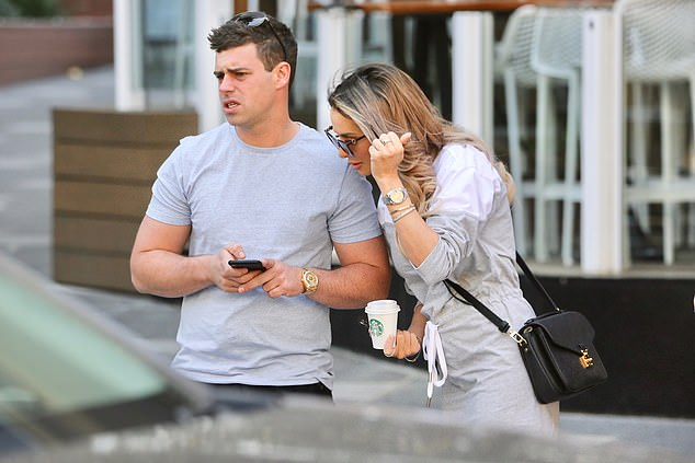 'We're just good friends': Businessman Michael confirmed Stacey's claims when asked by the radio hosts straight after