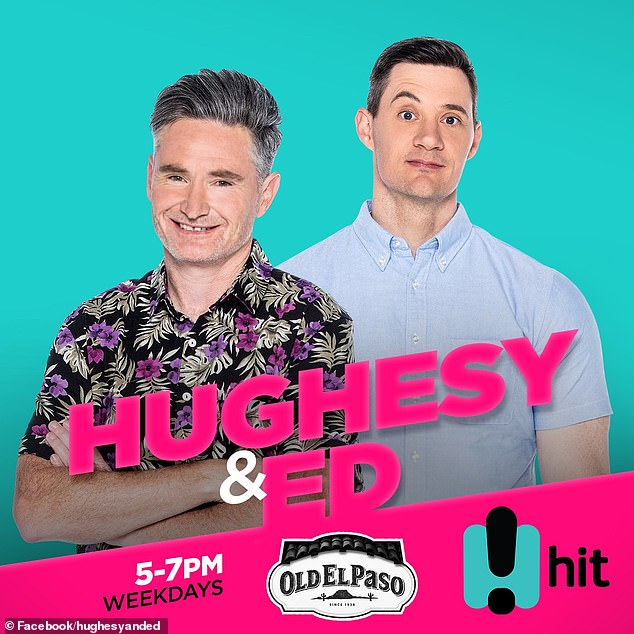 """Rumours: He told his co-host Dave Hughes:'Elly got in first. It's then been brought up, """"What about the sister? Let's try."""" So then behind the scenes, she [Becky] gets across the line and then goes [to her boyfriend], """"You're out!""""'"""