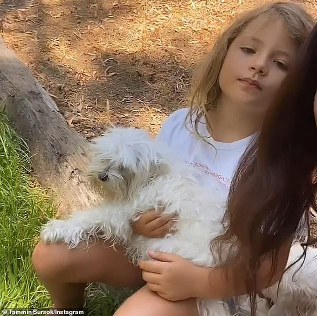 'Make time, hug your animals and your loved ones':The Pretty Little Liars star admitted to feeling guilty about not spending more time with the dog over the past decade