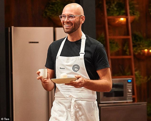 Top tips:Professional baker Reece Hignell (pictured), who competed on the tenth season of MasterChef Australia, offered a few words of advice to upcoming contestants