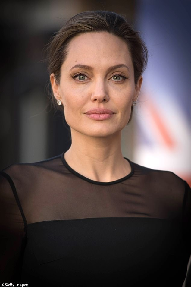 Stunned: Angelina Jolie was reportedly angry when Brad took Nicole to the castle where they were married