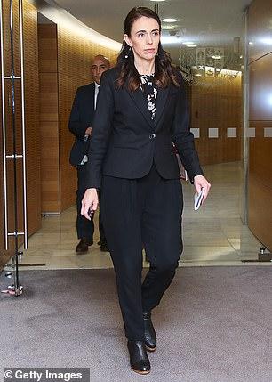 Prime Minister of New Zealand Jacinda Ardern