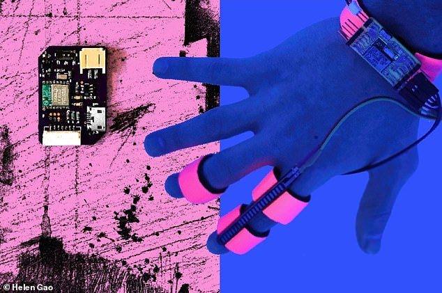 The Dormio technology, which is worn on the hand, works together with an app to manipulate the contents of the wearer's dreams