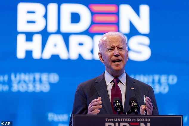 The video is the first official comment from the Biden campaign on the story which broke on Sunday night
