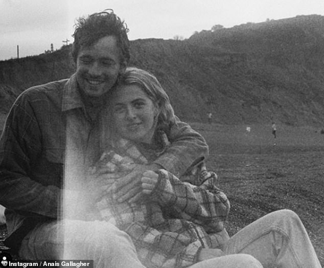 Loved-up: Last September, Anais revealed she has ditched her bustling London life for a quieter dwelling in Dorset, after moving to the countryside with her beau Julius Roberts