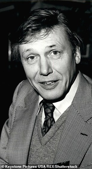 Sir David (pictured 1968) said he found the 23 million year old tooth encrusted in soft limestone while on vacation in Malta in the late 1960s