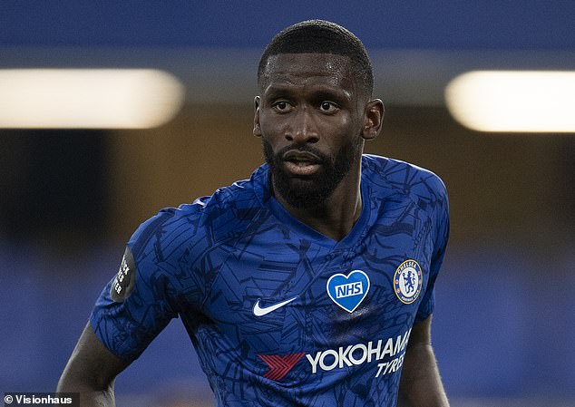 Defender Antonio Rudiger fell out of favor at Chelsea under manager Frank Lampard