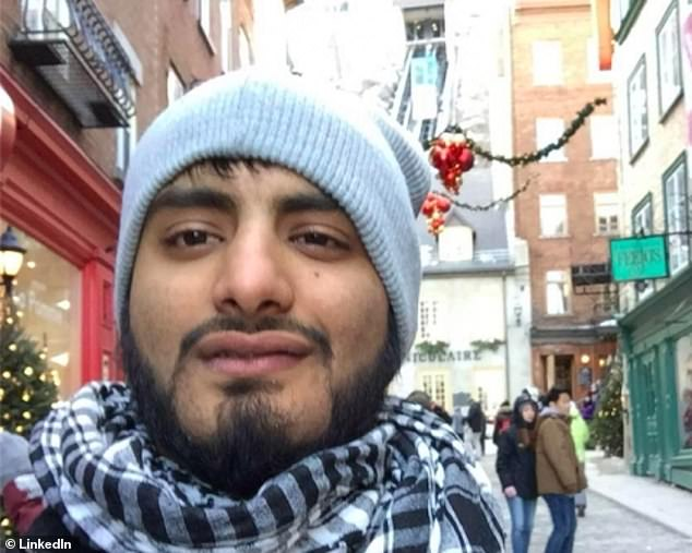 Shehroze Chaudhry, 25, from Burlington, Ontario, has been charged with a terrorism hoax