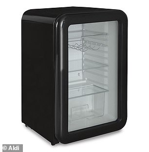 For a sleek design, shoppers can enjoy a 115L vintage bar fridge for $299