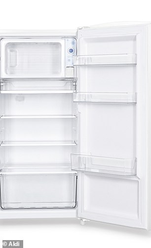 There's also a 158L bar fridge with freezer compartment for just $249