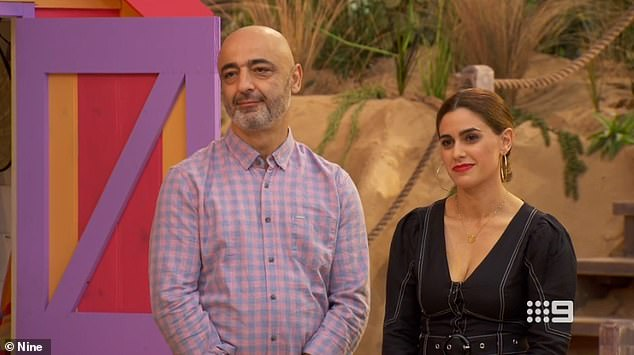 'The rooms are not to a liveable standard': It has now been revealed that the 'amateur' contestants on The Block leave their completed homes with significant issues which have to be repaired by professional tradesmen. Pictured are Harry and Tash