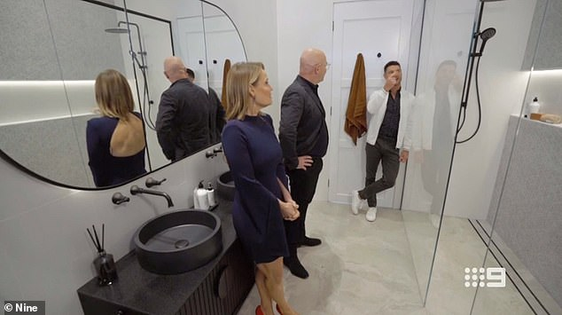 Brutal! He added that while the judges, Shaynna Blaze, Neale Whitaker and Darren Palmer [all pictured], merely judge the 'aesthetics' of the rooms, if he assessed the contestants' work they would 'get the lowest scores in terms of functionality'