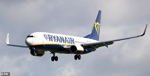 According to the most recent figures, Ryanair planes were 61 per cent full in the three months up to June 30 – meaning there was room to separate passengers