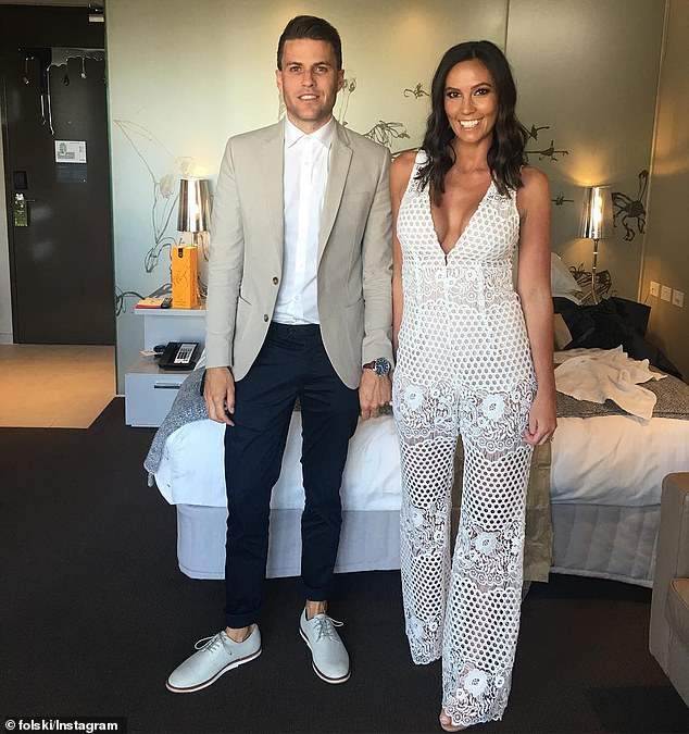 David Oosterloo, 32, and his wife Laura (pictured) are the multi-millionaires behind one of Australia's most lucrative skincare brands, Bali Body