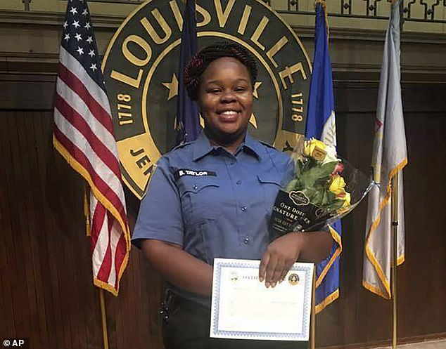Breonna Taylor, 26, was shot and killed by Louisville police on March 13