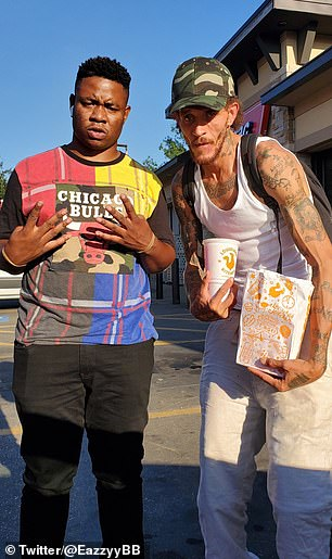 A Twitter user known as Eazy B recently wrote that he stumbled into West and bought the former NBA guard Popeyes chicken