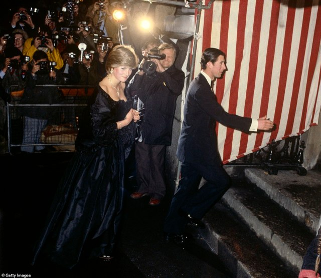 Drama:However the marriage wasn't without tension, as Charles began to feel Diana was becoming a more popular figure then himself (pictured in 1981)