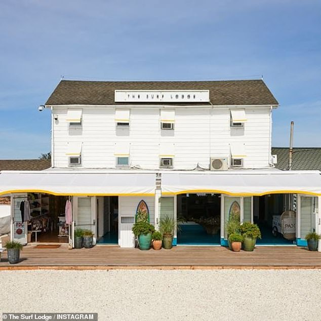 Popular: The Surf Lodge in Montauk, New York has been a favorite celebrity hot spot, where Hollywood stars, influencers, and socialites could be eating and partying