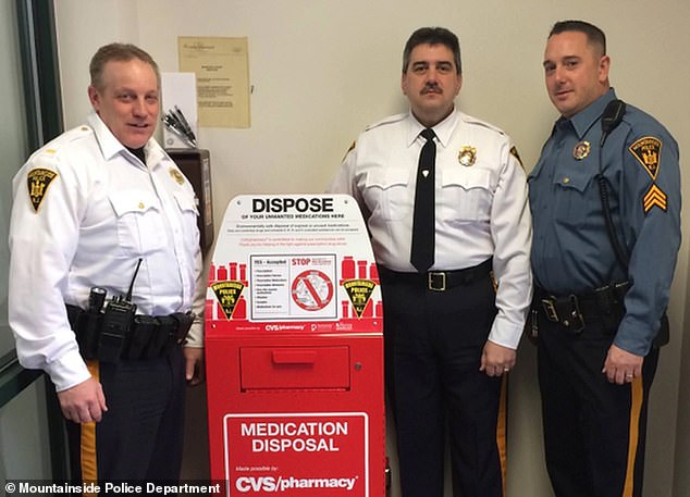 The six, claimed higher-ups harassed them with a sex toy for more than 10 years. Those who carried out the harrasment allegedly including, from left: Lt. Thomas Murphy, Chief Allan Attanasio, Detective Sgt. Andrew Huber. Both Attanasio and Huber have since resigned
