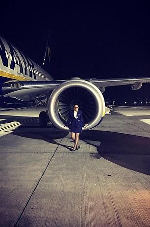 Dobre is a former air hostess