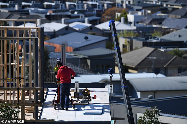 National building approvals fell by 1.6 per cent, unpleasantly surprising financial markets which had expected a flat result. This occurred despite home owners receiving $25,000 subsidies from the federal government's $688million HomeBuilder scheme