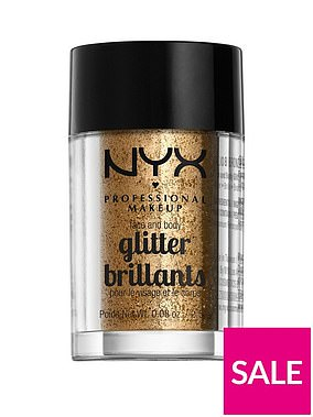 NYX Professional Makeup Face & Body Glitter (was £5.09, now £4.79) at Very