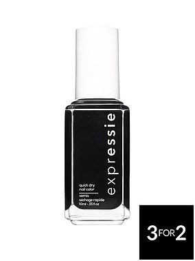 Essie Expr Quick Dry Nail Polish in Black (£7.99) at Very