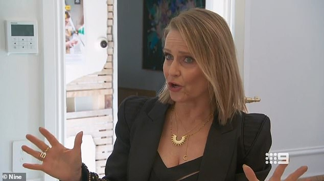 'Inspiration is one thing, completely taking someone's idea and making it your own is another,' Block judge Shaynna Blaze (pictured) told Luke and Jasmin