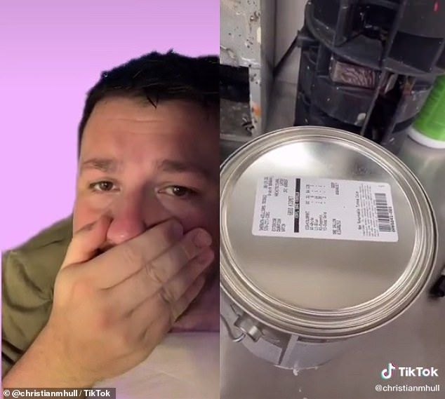 'This is my favorite game to play, you literally just guess what the final paint color's gonna be,' he says