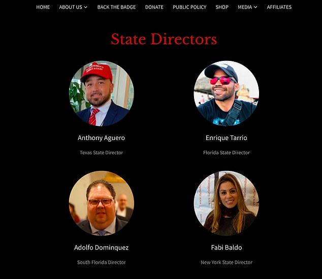 Tarrio appears on the Latino for Trump website as the state director for Florida. Tarrio said that Trump 'didn't condemn us. He didn't promote us either. What ''stand by'' means is stand by me'