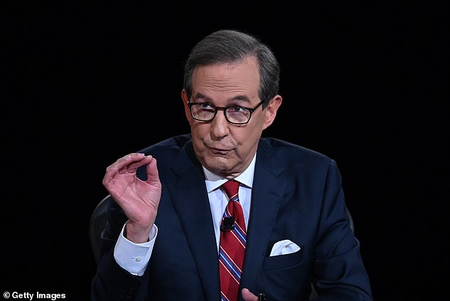 Fox News' Chris Wallace, who moderated the first debate, said he feared even turning off President Donald Trump's microphone would stop him from talking