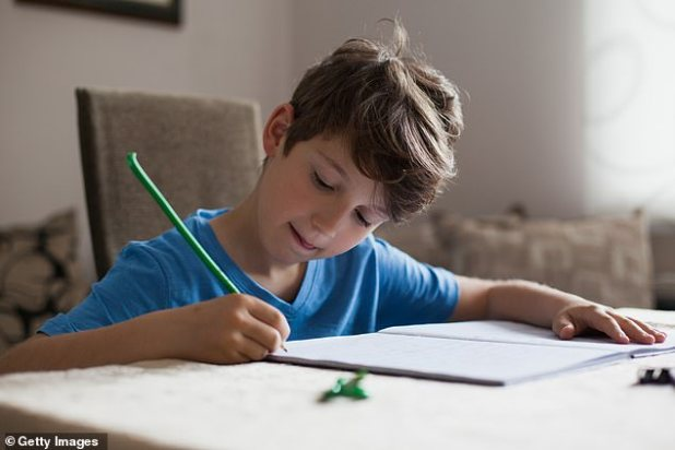 After an examination of brain activity, researchers found using a pen and paper to help children learn and remember more than recording information on a computer