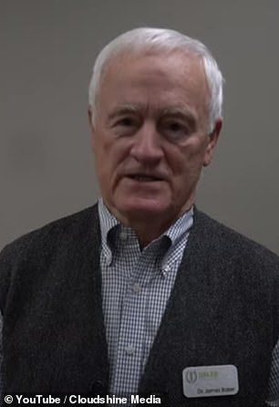 Dr James Baker (pictured) was one of two investigators disqualified during the Trump administration in 2018 after being investigated four times from 2009 to 2017