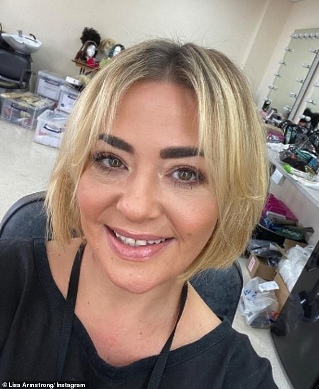 Incident: Lisa Armstrong 'called the police after love letters from ex-husband Ant McPartlin were stolen from a skip outside their former marital home', it was reported on Thursday